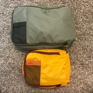 📦REI Expandable packing cube set